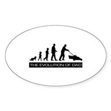 The Evolution of Dad Decal