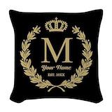 Family Woven Pillows
