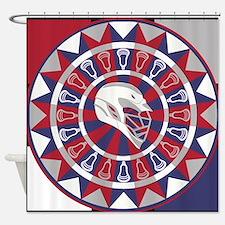 Lacrosse Dart Room Set Shower Curtain