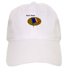Custom Romania Flag Baseball Baseball Cap