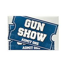 Gun Show Tickets Magnets