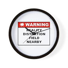 WARNING: Reality Distortion Field Clock