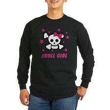 Skull Girl Long Sleeve T-Shirt