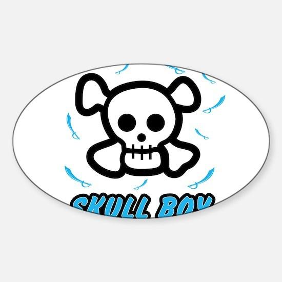 Skull Boy Decal