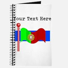 Custom Portugal Flag Journal