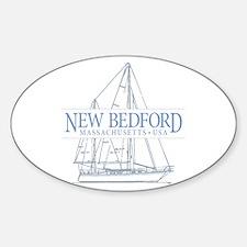 New Bedford - Sticker (Oval)