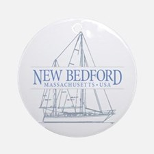 New Bedford - Ornament (Round)