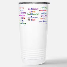 Funny Liberal Travel Mug