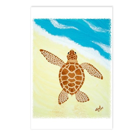 Hatchling Sea Turtle Postcards (Package of 8)