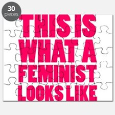 This is What A Feminist Looks Like Puzzle