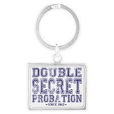 Double Secret Probation Landscape Keychain