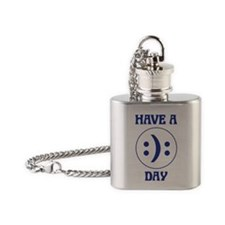 Have a day Flask Necklace