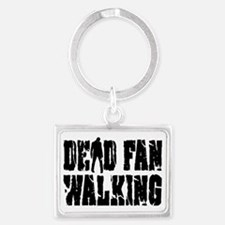Dead Fan Walking Landscape Keychain