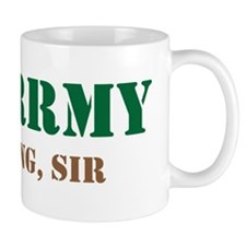 Army Training Sir Mug