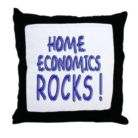 Home Economics Rocks ! Throw Pillow