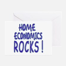 Home Economics Rocks ! Greeting Cards (Package of