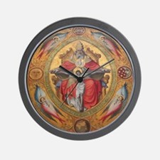 Altar Piece Wall Clock