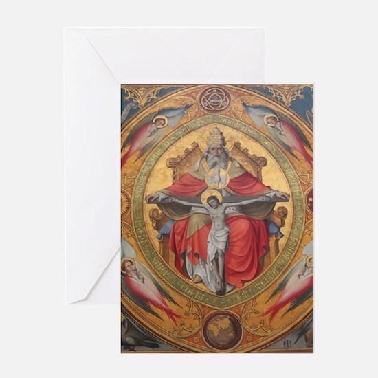 Altar Piece Greeting Cards
