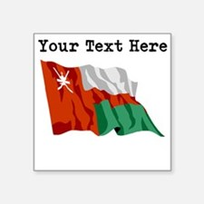 Custom Oman Flag Sticker