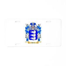 Hally Aluminum License Plate