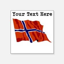 Custom Norway Flag Sticker