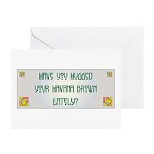 Hugged Havana Greeting Cards (Pk of 10)