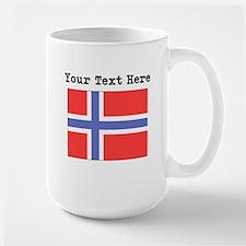 Custom Norway Flag Mugs
