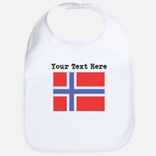 Custom Norway Flag Bib