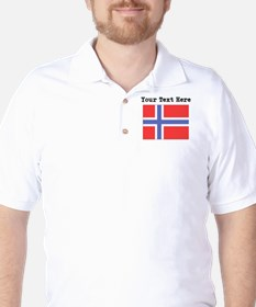 Custom Norway Flag T-Shirt