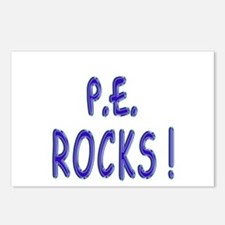 P.E. Rocks ! Postcards (Package of 8)