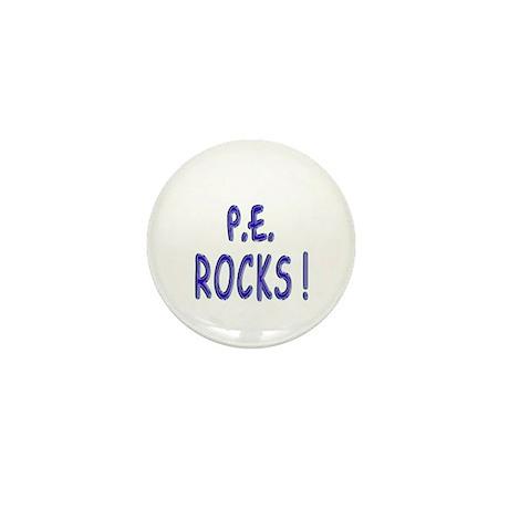 P.E. Rocks ! Mini Button (10 pack)
