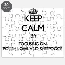 Keep calm by focusing on Polish Lowland She Puzzle
