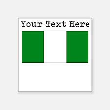 Custom Nigeria Flag Sticker