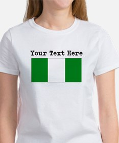 Custom Nigeria Flag T-Shirt
