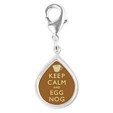 Keep Calm And Egg Nog Charms
