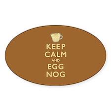 Keep Calm And Egg Nog Stickers