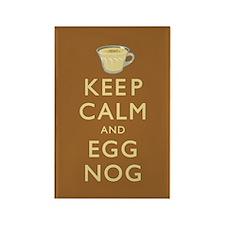 Keep Calm And Egg Nog Magnets