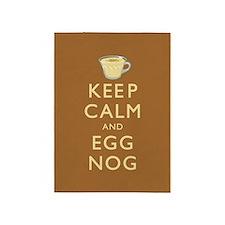 Keep Calm And Egg Nog 5'x7'Area Rug