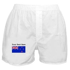 Custom New Zealand Flag Boxer Shorts