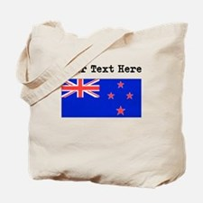 Custom New Zealand Flag Tote Bag