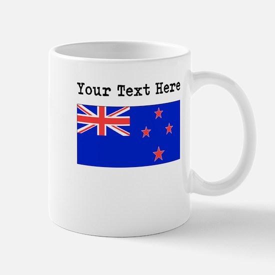 Custom New Zealand Flag Mugs