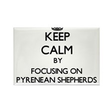 Keep calm by focusing on Pyrenean Shepherd Magnets