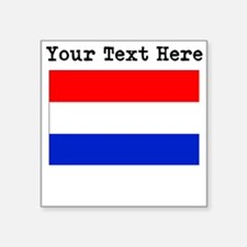 Custom Netherlands Flag Sticker