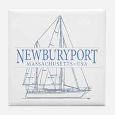 Newburyport MA - Tile Coaster