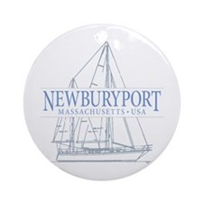 Newburyport MA - Ornament (Round)