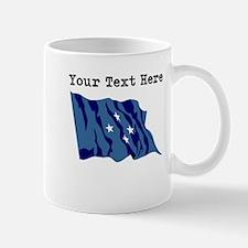 Custom Micronesia Flag Mugs