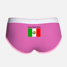 Custom Mexico Flag Women's Boy Brief
