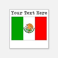 Custom Mexico Flag Sticker
