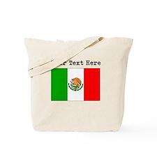 Custom Mexico Flag Tote Bag