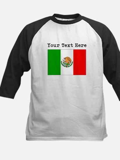 Custom Mexico Flag Baseball Jersey